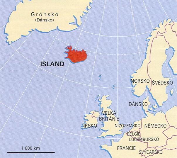 island mapa sveta Horáčkovi   Island island mapa sveta